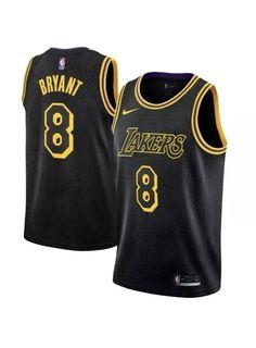 5ee1b16ff75 Nike NBA City Edition Swingman Kobe Bryant 8 Lakers MENS Size 3XL  AJ6432-010 #Nike #LosAngelesLakers. Swoosh Supply · Authentic Nike Jerseys