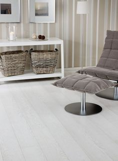 oak bleached engineered wood floor AMBIENT COLLECTION : GRAND 188 WHITE MARBLE Upofloor Oy