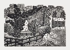 Eric Ravilious Considerable Falls Of Snow