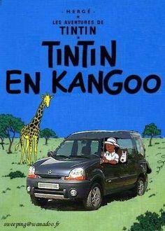 Top 18 des détournements de couvertures d'albums de Tintin Album Tintin, Best Bucket List, Photomontage, Funny Art, Comic Covers, Comic Strips, Haha, Cartoons, Comic Books