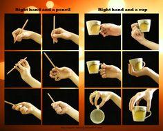 Right Hand, a Pencil and a Cup by ayumi-lemura.deviantart.com on @deviantART