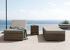 Manutti San Diego Sun Lounger - how comfortable does this sunbed look? the cushions are 10cm thick for extra luxury in the sun!