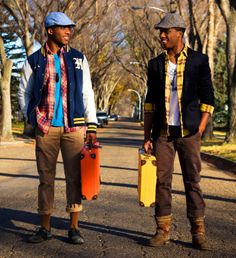 African Prints in Fashion: African Fashion Twins