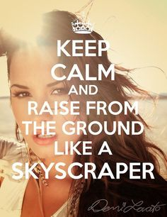 LOVE what this makes me see in my mind...the image is powerful...rise from the ground like a skyscraper...