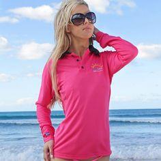 Ladies Long Sleeve Polo Shirt