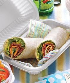 """Roast Beef and Cheddar Roll-Ups {use any kind of lunch meat and cheese or PB&J for easy sandwiches if you didn't make it for the """"bread and milk"""" run} Lunch Snacks, Lunch Recipes, Healthy Snacks, Cooking Recipes, Easy Recipes, Cooking Pork, Cheese Recipes, Healthy Eating, Cooking Ideas"""