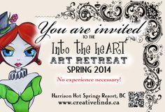 Heart Art, Spring 2014, Events, Creative