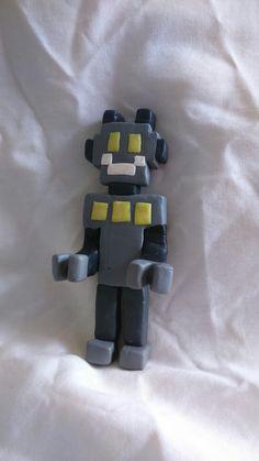 Mr Robot, polymer clay