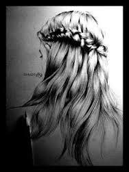 Картинки по запросу white hair drawing