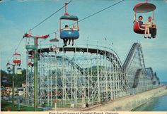 Crystal Beach Amusement Park. I remember going here for Kenmore days...always a great time.