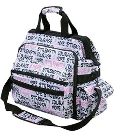 LO913BCA 	  Nurse Mates Breast Cancer Awareness Nursing Bag $39.99 http://www.uniformadvantage.com/pages/prod/breast-cancer-awareness-bag.asp?navbar=4
