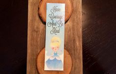 OtterNonsenseDesigns Cinderella Bookmark