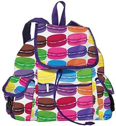 iscream Girls Macaroons Deluxe Backpack -- Be sure to check out this awesome product.