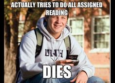 Valuable lesson in Freshmen Year