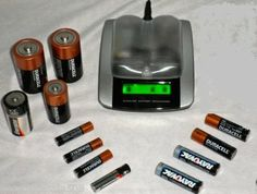 Best rated Alkaline Battery Recharger for AAA, AA, C and D size Batteries