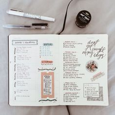 daily bullet journal
