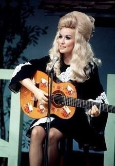 The Dolly Parton Scrapbook - that hair!