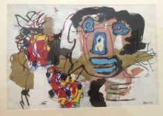 Karel Appel - Big Head - 1963 — at Centre Pompidou.