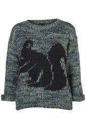 Squirrel sweater!