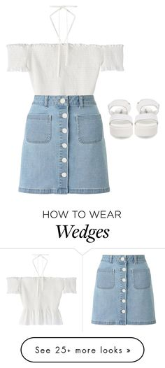 """Untitled #1241"" by the-princess-emma on Polyvore featuring Miss Selfridge and Steve Madden"