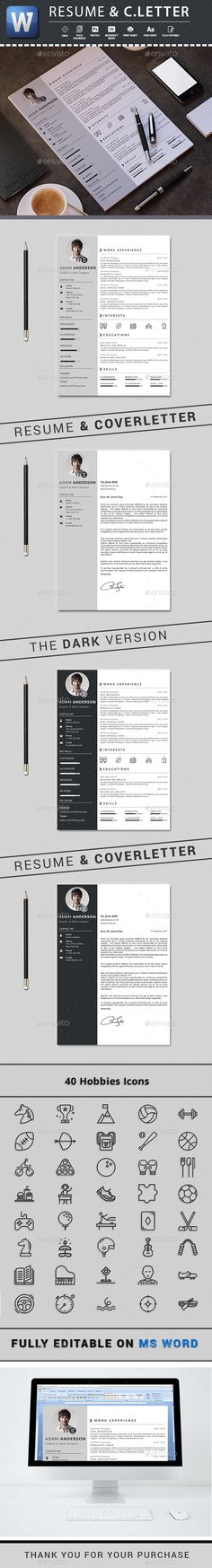 Software Engineer Resume Sample Pdf Resume  Modern Resume Template Modern Resume And Cv Template Career Management Resume Services with Bullet Points For Resume Cv By Thegraphichive Resume Resume Is The Super Clean Modern And  Professional Microsoft Office On Resume Word