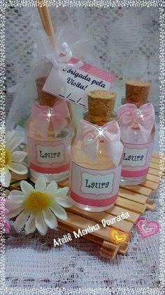 Mini Difusor - Lembrancinhas de Nascimento.