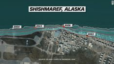 Shishmaref, Alaska: Tragedy of a village built on ice - CNN Army Corps Of Engineers, Us Army, Climate Change, Arctic, Alaska, Coastal, Environment, Ice, In This Moment