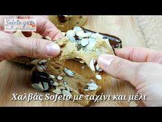Χαλβάς με ταχίνι και μέλι. - YouTube Gluten Free, Sweets, Sugar, Tahini, Healthy, Desserts, Recipes, Diy, Glutenfree