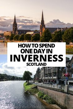 Find out how best to spend one day in Inverness including where to eat, which Inverness attractions to visit and how to enjoy some nature! Scotland Vacation, Scotland Travel, Ireland Travel, Scotland Trip, Beautiful Places To Visit, Cool Places To Visit, Places To Go, Scotland With Kids, Inverness Scotland