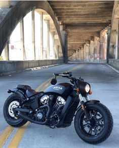 """Scout bobber with exhaust 📸—> Womens Motorcycle Helmets, Bobber Motorcycle, Motorcycle Design, Honda Motorcycles, Motorcycle Style, Vintage Motorcycles, Custom Motorcycles, Indian Motorcycles, Motorcycle Quotes"