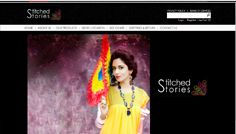 Stitched Stories produce latest fashionable designs ranging from clean silhouettes, drapes, play with pleats, stitches creating varied textures, ethnic embroidery and intricate details while keeping in mind summer/winter wear-ability Visit: http://stitched-stories.com/   Designed by INTERACTIVE MEDIA WWW.IMEDIA.COM.PK