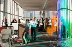 Love this shot for GCUC 2015 in LA at the Steelcase Showroom