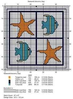 Free biscornu cross stitch pattern