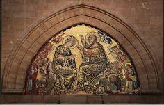Gaddo Gaddi (attr.) - Incoronazione della Vergine - Cattedrale Santa Maria del Fiore, Firenze