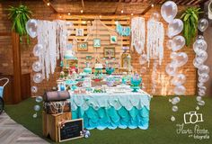 The Little Mermaid Birthday Party Ideas | Photo 1 of 56