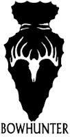 Bow Hunter Arrowhead Vinyl Decal Can be made in many colors and can be personalized and have a name(s) added to it for an additional fee. Great for cars, trucks, bedrooms and many other places or items!