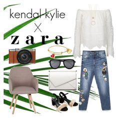 """kendal-kylie X zara"" by bellanindia on Polyvore featuring Pala, Kate Spade and Fujifilm"