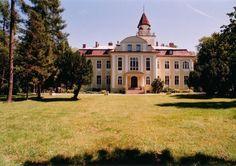 Pałac w Nieznanicach wzniesiony w 1918 r. przez Aureliusza Wunsche. Po II wojnie św. w pałacu utworzono Stację Hodowli Roślin. W 1995 r. ogłoszony został przetarg odnośnie sprzedaży, w wyniku którego ziemie trafiły do Jerzego Ostrowskiego. Pałac miał służyć jako rezydencja mieszkalna. Jednakże w końcu kwietnia 1997 roku rezydencja została sprzedana kolejnym właścicielom. Obecnie jest w posiadaniu Elżbiety Lubert i Gerarda Weydmanna, którzy otworzyli tam restaurację wraz z hotelem.