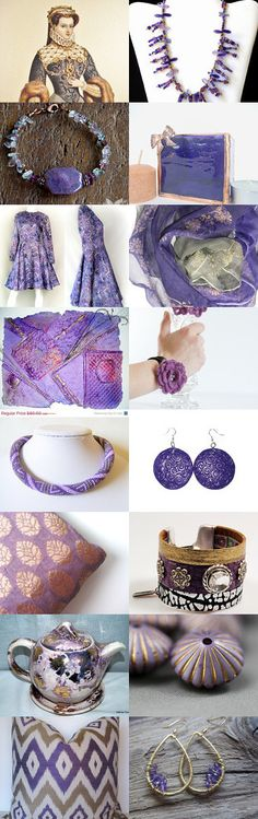 Simply Royal Purple by Tronell Prinsloo on Etsy--Pinned with TreasuryPin.com