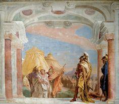 Sala dell'Iliade. Villa Valmarana