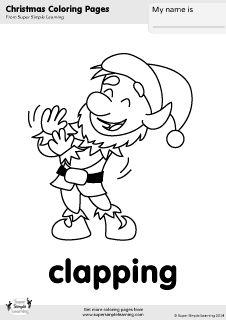 Christmas...ho ho ho! on Pinterest | Christmas Coloring Pages ...