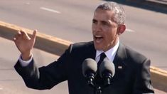 President Obama Speaks in Selma [Complete Speech] His speech here over the weekend may be the best speech he's ever given.