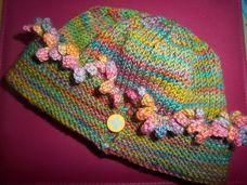 Ravelry: Baby Kendyl Cap pattern by Marji LaFreniere Knit Crochet, Crochet Hats, Crochet Designs, Crochet Ideas, Kids Hats, Petunias, Baby Hats, Baby Knitting, Ravelry