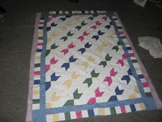 Most recent baby quilt   Baby Quilts   Pinterest