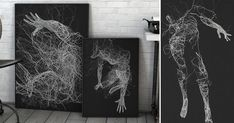 """""  Generative Illustrations of the Human Form by Janusz Jurek Colossal http://www.thisiscolossal.com/2015/08/generative-illustrations-of-the-human-form-by-janusz-jurek/ via Instapaper"