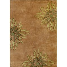 This charming area rug highlights a plush New Zealand wool blend construction that is hand washed. This transitional rug will anchor any living space, decorated with a beautiful floral pattern design in a vivid color palette.