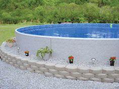 Radiant Semi-Inground Pools