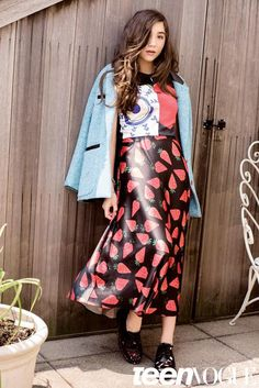 Rowan Blanchard shares her style tips in the October issue