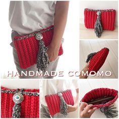Hilloree A Heselgrave Diy Crochet And Knitting, Crochet Art, Crochet Home, Learn To Crochet, Crochet Stitches, Crochet Patterns, Crochet Clutch, Crochet Purses, Chesire Cat