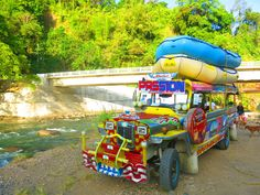 Top-loaded Jeepney Jeepney, Swimming Holes, The Province, Island Beach, Pinoy, Christmas And New Year, Filipino, Hotels And Resorts, Philippines